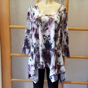 Philosophy Knit Floral Tunic